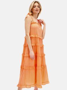 Letnia sukienka na ramiączkach Smashed Lemon
