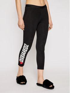 Dsquared2 Underwear Legginsy D8N473480 Czarny Slim Fit
