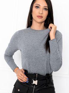 Sweter damski 002ELR - szary