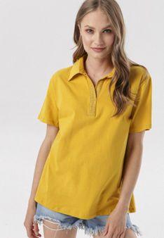 Żółta Bluzka Echinohre