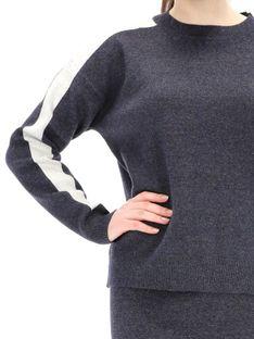Granatowy sweter Rino & Pelle LEONIE.700W19