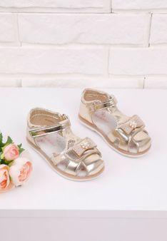 Sandałki złote 3 Neal