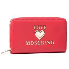 Duży Portfel Damski LOVE MOSCHINO - JC5622PP1CLF0500 Rosso