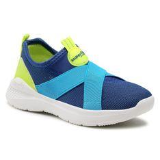 Sneakersy SUPERFIT - 1-000310-8000 S Blau/Gelb