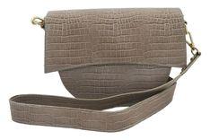 Elegancka torebka wizytowa - Beżowa