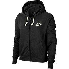 Bluza damska z kapturem Gym Vintage Hoodie Full Zip Nike