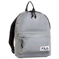 Plecak FILA - Mini Backpack 685143 Silver Reflective J99