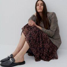 Reserved - Spódnica ze wzorzystej tkaniny - Wielobarwny