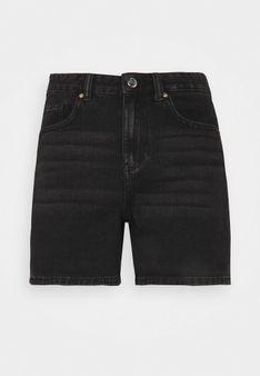 ONLY Petite - Szorty jeansowe - czarny denim