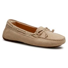 Mokasyny CLARKS - C Mocc Boat2 261564224 Taupe Suede