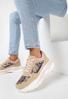 Różowe Sneakersy Thonimoni