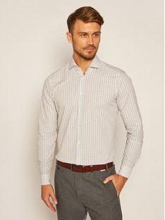 Strellson Koszula 11 Sereno-Sw 30023171 Biały Slim Fit