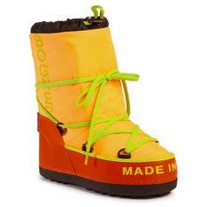 Śniegowce BOGNER - New Tignes 17 303-2164 Neon Orange Gom 37