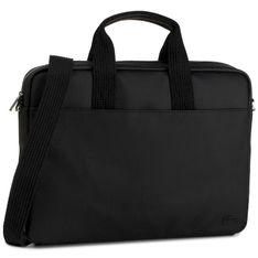 Torba na laptopa LACOSTE - Computer Bag NH2451HC Black 000