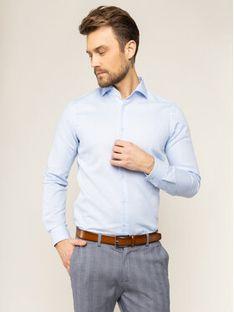 Strellson Koszula Sereno 30018821 Niebieski Slim Fit