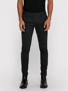 ONLY & SONS Spodnie materiałowe Mark 22013727 Szary Slim Fit
