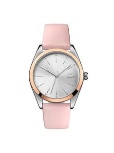 Lacoste Zegarek Parisienne 2001098 Różowy