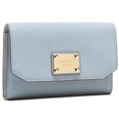 Duży Portfel Damski DKNY - Pearl Sm Envelope Fl R04Q1L58  Blue Moon BLM