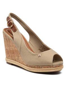 Wrangler Sandały Panama Raval WL11651A Beżowy
