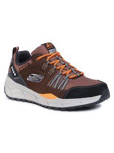 Skechers Trekkingi Equalizer 4.0 Trail 237023/BRBK Brązowy
