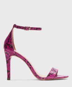 Różowe sandały damskie