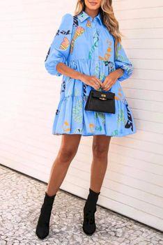 Sukienka AGLODA BLUE