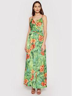 Marciano Guess Sukienka letnia 1GG768 9533Z Zielony Regular Fit