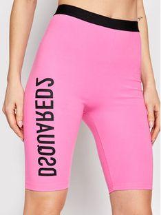 Dsquared2 Underwear Szorty sportowe D8N603540 Różowy Slim Fit
