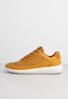 ECCO - Sneakersy niskie - musztardowy