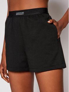 Calvin Klein Jeans Szorty materiałowe Milano J20J215564 Czarny Regular Fit