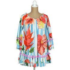 Sukienka Sigris Moda wielokolorowy