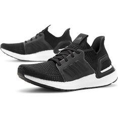 Buty sportowe damskie Adidas do biegania bez wzorów sznurowane