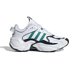 Buty sportowe męskie białe Adidas sznurowane