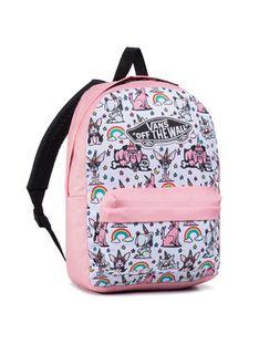 Vans Plecak Girls Realm Bac VN0A4ULTZQS1 Różowy