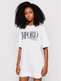 Emporio Armani Underwear Sukienka codzienna 262676 1P340 71710 Biały Regular Fit