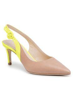 TWINSET Sandały Decollete' 201TCP010 Beżowy