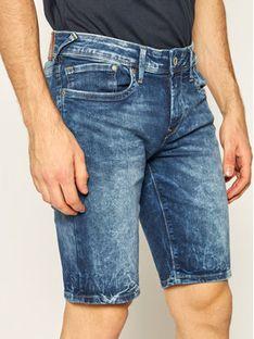 Pepe Jeans Szorty jeansowe Hatch Short Gq9 PM800708 Granatowy Slim Fit