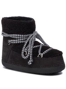 Inuikii Buty Boot Curly 70101-16 Czarny