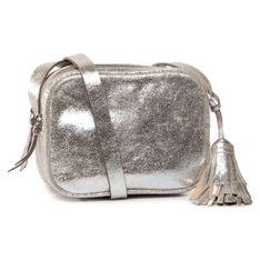 Torebka CLARKS - Topsham Mila 261479540 Silver