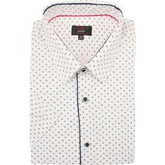 Koszula męska Jurel w abstrakcyjnym wzorze