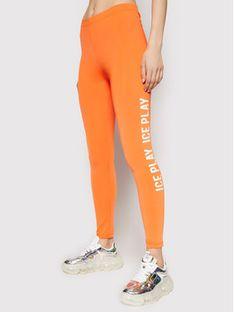 Ice Play Legginsy 21E U2M0 B051 P437 3165 Pomarańczowy Slim Fit