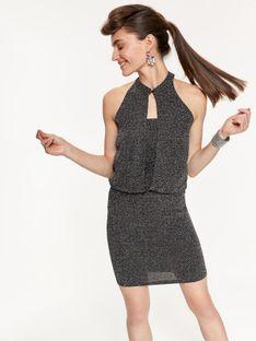 Sukienka mini z odkrytymi plecami