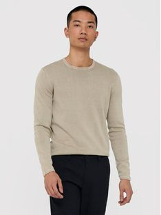 ONLY & SONS Sweter Garson Life 22006806 Beżowy Regular Fit