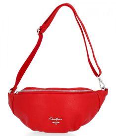 Uniwersalne Nerki Damskie firmy David Jones Czerwona (kolory)