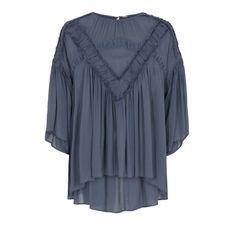 Elira Chiffon Tunic Skjorter 40624/7224