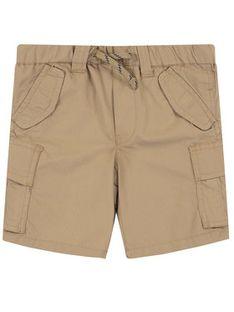 Polo Ralph Lauren Szorty materiałowe Cargo Short 321785699 Brązowy Regular Fit
