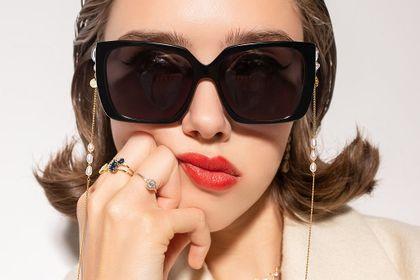 Ania Kruk stworzyła kolekcję okularów przeciwsłonecznych we współpracy z JAI KUDO