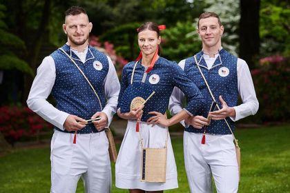 Moda na olimpiadzie: Czesi w strojach nadrukowanych techniką z XVIII wieku