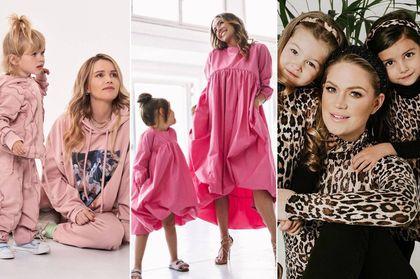 Modna mama i stylowe dziecko? Te gwiazdy tworzą ubrania dla dorosłych i najmłodszych