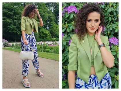 #Stylizacje Avanti24 - zestaw na lato z wiązanym topem według Joanny Szczurek